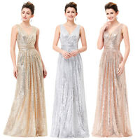 Formal Long COCKTAIL Dress Prom Evening Party Bridesmaid Wedding Gown Dresses