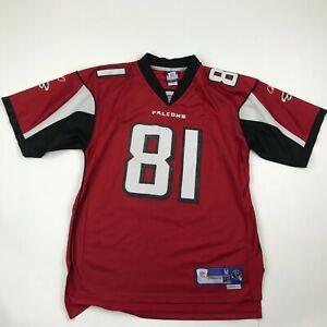 Atlanta Falcons Prince #81 Reebok Football Jersey sz M