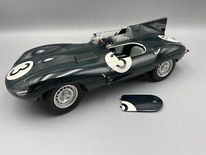 Autoart Jaguar d-type 1954 Theism 12 Hrs Winner 1/12 Scale Model Car