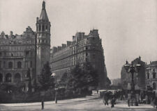 Thames Embankment National Liberal Club Hotel Metropole Avenue Theatre 1896