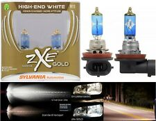 Sylvania Silverstar ZXE Gold H11 55W Two Bulbs Head Light Low Beam Upgrade OE