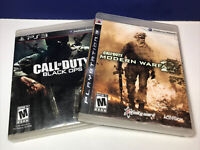 2 Game Lot:  Call of Duty Modern Warfare 2 & Black Ops (Sony Playstation 3)