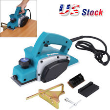 1000W Portable Electric Wood Planer Door Plane Hand Held Woodworking Power Tool
