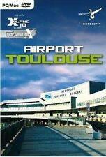 Airport Toulouse for X-plane 10 PC DVD Flight Simulator Game
