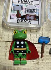 Funny Brick Throg Thor Custom Minifigure HTF Lego Limited Super Heroes