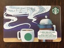 "Canada Series Starbucks ""BRAILLE 2017"" Gift Card - New No Value - Eng/Fr"