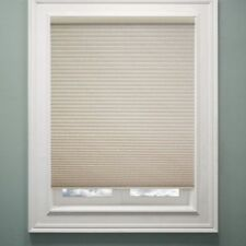 Chicology Cordless Cellular Whisper Window Shade CREME 27'' X 72'' Semi-Opaque