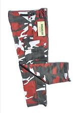 Pantalon Treillis Enfant Camouflage Urban rouge 14 ans