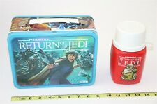 Vintage Star Wars Return of the Jedi Lunch Box With Thermos 1983