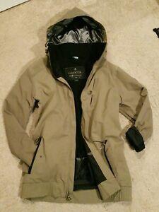 Ride Cappel STRATA Snowboard Ski Waterproof Coat Jacket. Brown. Mens Large L