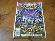 Teenage Mutant Ninja Turtles The Movie Comic #1 (Summer 1990) Archie Comics NM