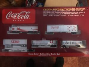 Vintage Official Coca Cola Electric Train