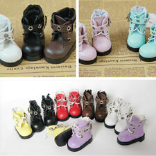 Wanna one Shinee NCT BTS EXO Baekhyun Doll's Shoes Leather Boots Shoes Limited