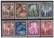 VATICANO - 1949  ANNO SANTO 1950  SERIE  USATA