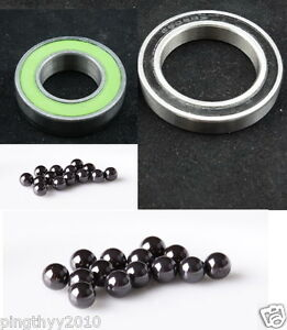 Total Ceramic Bearing Kit(2pc) for TUNE Cannonball(SL) Lefty HUB-FIT Cannon dale