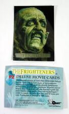 "1996 DART ""The FRIGHTENERS"" MOVIE PROMO TRADING CARD [P2]  - V/GOOD Cond"