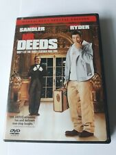Mr Deeds DVD Movie Widescreen Special Edition 2002