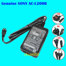 Genuine SONY AC-L200C AC-L200B AC-L200 AC Power Adapter For HDR-CX500E HC40E