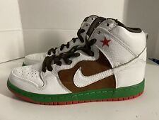 Authentic Nike SB Dunk High Size 8 Shoes Premium Cali 313171-201 Men's