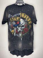 Affliction Short Sleeve T-Shirt Mens Gray Size M