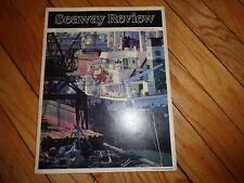 Seaway Review Magazine December 1984 Great Lakes Shipping St. Lawrence