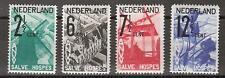 NVPH Netherlands Nederland nr 244 245 246 247 ong MLH 1932 ANVV zegels Pays Bas