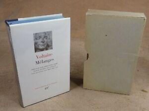 LA PLEIADE :  VOLTAIRE - MELANGES  / 1965