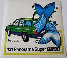 Aufkleber FIAT 131 Panorama Super 70er Sticker Autocollant Youngtimer