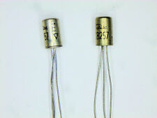 "2SB257 ""Original"" Toshiba Germanium Transistor 2  pcs"