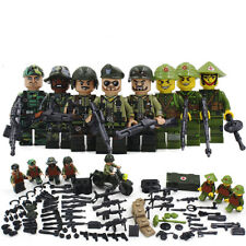 Vietnam War WW2 US Army SWAT Soldier Military CS SWAT Fit Lego Forces