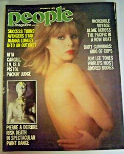 People With Pix Magazine, October 12 1978 - Bart Cummings - #M117