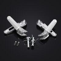 Front/Rear Foot Pegs Adapters For HONDA CBR1000RR CBR600RR CBR954 CBR600F4I