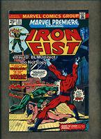 1975 Marvel Premiere #23 F/VF Iron Fist First Print Marvel MVS Intact