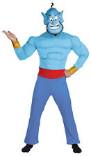 Genie Muscle Chest Adult Mens Costume Disney Aladdin Movie Halloween Disguise