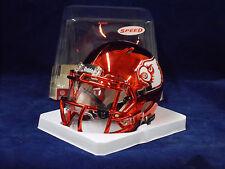 Louisville Cardinals RED Riddell NCAA Football Speed MINI HELMET VISOR ATTACHED