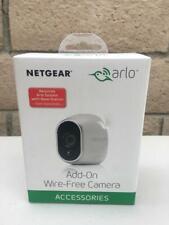 Netgear Arlo Add-On Security Camera Wireless HD VMC3030-100NAS Mount & Batteries