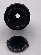 Minolta 100mm F3.5 MC Macro Rokkor-QE Lens