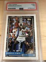 Shaquille O'Neal 1992-93 Rookie Topps #362 **FRESHLY GRADED*** (PSA 7)