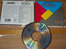 THE BYRDS - DRAFT MORNING, BEST / ZOUNDS-CD 1990 MINT-