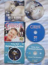 JOB LOT OF 2 CHRISTMAS PROMO CD 's & 1 CHILDREN'S FILM.