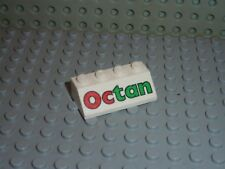 set garage 4655 LEGO brique 2 x 4 x 3 with OCTAN pattern ref 30144px11