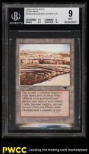 1994 Magic The Gathering MTG Antiquities Strip Mine Horizon Uneven BGS 9 (PWCC)