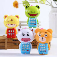 Baby Kid Musical Mobile Phone for Toddler Sound Hearing Educate Learning Toy