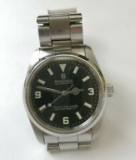 Sandoz 369 Explorer 1 Style Automatic Watch With Hack Set Feature