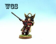 25mm Warhammer 40K WGS painted Blood Angels Chapter Master Gabriel Seth SM035