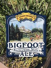 Sierra Nevada Big Foot Beer Bar Pub 3D Wood Sign Mirror New