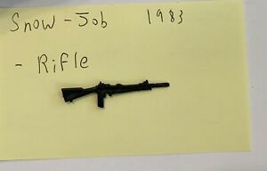 G.I. Joe 83 Snow Job Snowjob v1 1983 C-9+ ARAH Rifle Original Vintage