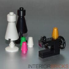 LEGO Furniture: Sewing Machine Set w/ Dress Forms  [instructions,minifigure,kit]