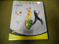 2008/09  SELECT CRICKET  CARD ALBUM, NO CARDS OR PAGES