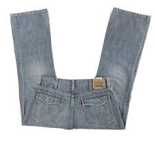 Levis Mens 527 Boot Cut Red Tab Jeans Size 38 X 32 Pocket Flap Medium Wash